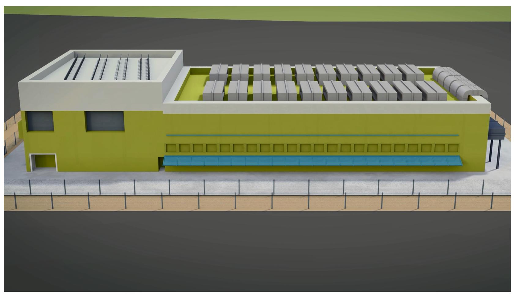 第2期-室內乾式貯存設施外觀圖