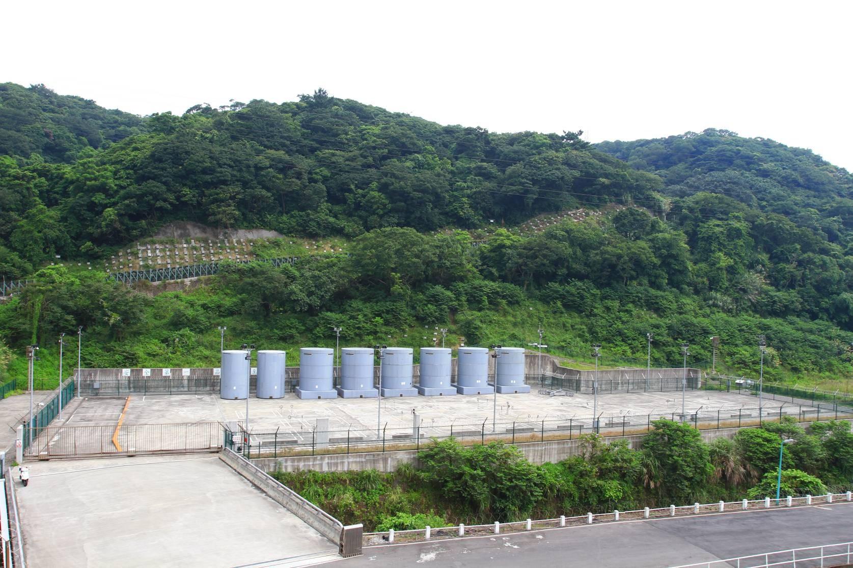 核一廠-第一期乾式貯存場圖
